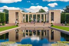 Het de Amerikaanse Begraafplaats en Gedenkteken van Normandië Royalty-vrije Stock Fotografie