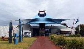 Het de Bezoekercentrum van de Pinguïnparade Stock Foto