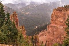 In het de canion Nationale park van Brice, Utah Royalty-vrije Stock Fotografie