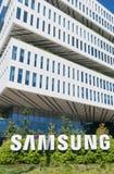 Het de Collectieve Bouw en Embleem van Samsung Stock Fotografie