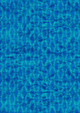 Het de gerimpelde achtergrond/blauw van het foliebehang Royalty-vrije Stock Afbeeldingen