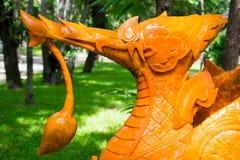 Het de Kaarsfestival van Ubonratchathani, de Kaarsen is gesneden uit was, Thaise kunst 19 Juli, 2016, Ubon Ratchathani, Thailand Stock Afbeelding