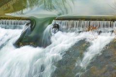 Het de lente van ` s en de ijver van het water royalty-vrije stock fotografie