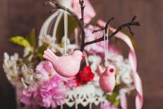 Het de lentedecor Royalty-vrije Stock Afbeeldingen
