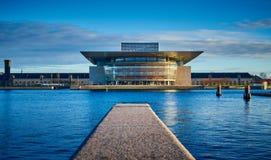Het de Operahuis van Kopenhagen, Denemarken royalty-vrije stock afbeelding