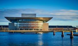 Het de Operahuis van Kopenhagen, Denemarken royalty-vrije stock afbeeldingen