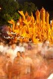 Het de paradefestival van de kaars toont. Royalty-vrije Stock Afbeelding