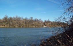 Het de Rivieroosten van Cumberland van Nashville Tennessee royalty-vrije stock afbeeldingen
