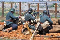 Het de slagweer invoeren van gehaktmolennivelle Royalty-vrije Stock Foto