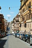 Het de stadsleven van Rome Mening van de stad van Rome op 1 Juni, 2014 Stock Fotografie