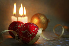 Het de stijlleven van Kerstmis Royalty-vrije Stock Fotografie