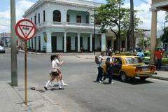 Het de straatleven van Cuba Stock Afbeeldingen