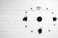 Het de tijd van ` s om koffie te drinken Stock Afbeelding