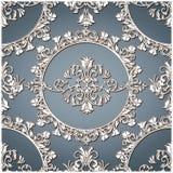 Het de uitstekende Textuur/Patroon van Florar Royalty-vrije Stock Afbeelding