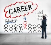 Het de Vaardigheidstalent van het carrièretalent komt ten goede Beroeps aan Concept royalty-vrije stock afbeelding