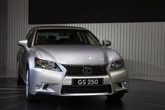 Het de werelddebuut van Lexus GS250 in Guangzhou Auto toont Royalty-vrije Stock Foto