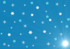 Het de winter semless patroon royalty-vrije illustratie