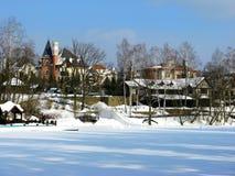 Het de winterlandschap Royalty-vrije Stock Foto