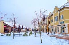 Het de winterpark Stock Fotografie