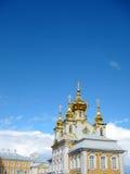 Het de Zomerpaleis in St. Petersburg Stock Foto's