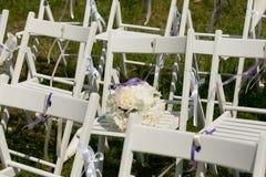 Het Decor van de huwelijksdoorgang Stock Foto's
