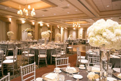 Het decor van de huwelijkslijst Royalty-vrije Stock Afbeeldingen