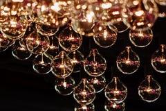 Het Decor van de verlichtingsbol, sluit omhoog royalty-vrije stock fotografie