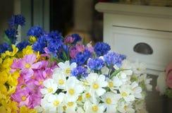 Het decor van het de lentehuis Stock Fotografie