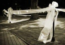 Het decor van het huwelijk Stock Foto