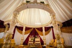 Het decor van het huwelijk Stock Afbeelding