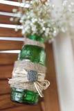 Het decor van het huwelijk Stock Afbeeldingen