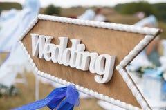 Het decor van het huwelijk royalty-vrije stock afbeeldingen
