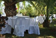 Het decor van het huwelijk Royalty-vrije Stock Foto's
