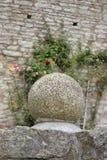 Het Decor van het steengebied in het Heldenburg-Kasteel Royalty-vrije Stock Fotografie