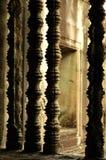 Het decor van het venster in tempel Royalty-vrije Stock Afbeelding