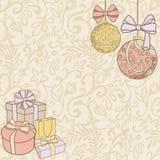 Het decor van Kerstmis stock illustratie