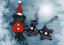 Het decor van Kerstmis Royalty-vrije Stock Afbeeldingen