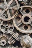 Het decoratieve close-up van metaalelementen royalty-vrije stock fotografie