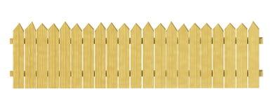 Het decoratieve houten tuin schermen vector illustratie