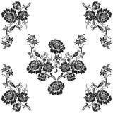 Het decoratieve ontwerp van het elementenpatroon Royalty-vrije Stock Fotografie
