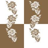 Het decoratieve ontwerp van het elementenpatroon Royalty-vrije Stock Afbeeldingen