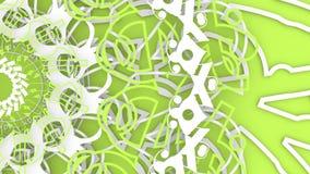 Het decoratieve ontwerpelement roteren stock illustratie