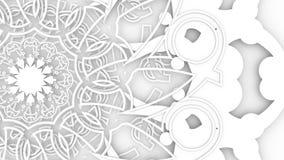 Het decoratieve ontwerpelement roteren royalty-vrije illustratie
