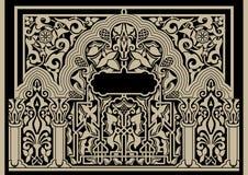 Het decoratieve patroon van het oosten Stock Foto's