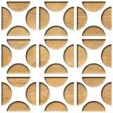 Het decoratieve patroon van koffiebonen - Abstract het met panelen bekleden patroon stock illustratie