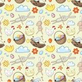 Het decoratieve patroon van Pasen vector illustratie