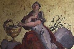 Het decoratieve schilderen royalty-vrije stock afbeelding