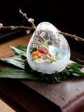 Het decoratieve voedsel van Japans Stock Foto