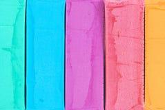 Het deeg van de kleur stock afbeelding