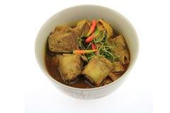 Het deeg van de Thaifoodkerrie en Chili Pork-been Royalty-vrije Stock Afbeelding